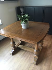 rectangular brown wooden coffee table Mississauga, L5H 2T1