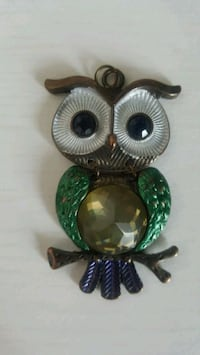 Necklace Owl Pendant with Chain  Mississauga, L5A 2J1