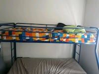 blue and yellow bed frame Vancouver, 98684