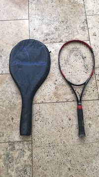 black and red Head tennis racket with case Virginia Beach, 23454