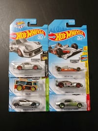 four Hot Wheels die-cast car toys Albuquerque, 87106