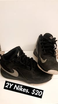pair of black Nike basketball shoes Massillon, 44646