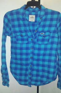 Hollister Extra Soft Fitted Flannel