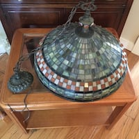 Tiffany inspired hanging lamp Frederick, 21701