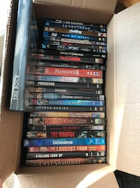 Assorted dvd movies/ blue ray Long Beach, 90808
