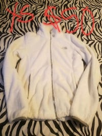 white and black zip-up hoodie Lincoln Park, 48146