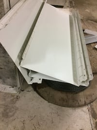 Weather guard shelves and dividers