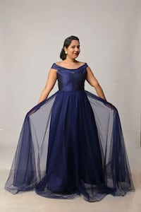 Japani crepe party wear gown Mumbai, 400064