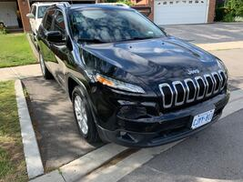 2015 Jeep Cherokee with Winter tires - winter ready