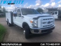 2012 Ford F-350 SD XL SuperCab Long Bed DRW 4WD Houston