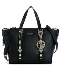 black leather Michael Kors 2-way bag Montreal, H1K 2X5