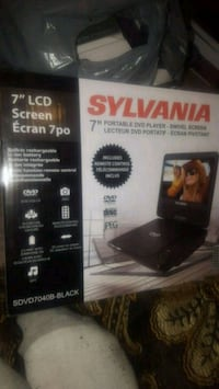 Sylvania 7 inch portable DVD player London, N5V 1Y9