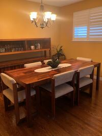 Beautiful Rosewood dining table and chairs Brampton, L6W 1E1