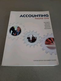 Accounting volume 1and workbook  Toronto, M8Y 0B3