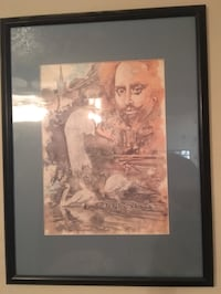 MOVING AND MUST SELL BY 4/22 —  Hand signed by artist — The Swans at Stratford Upon Avon. In perfect condition — $100