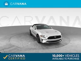 2018 Ford Mustang Convertible EcoBoost Convertible 2D Silver