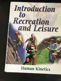 introduction to recreation and leisure book Cranbrook, V1C 5G4