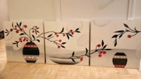 Set of 3 wall art, great design  Toronto, M5E 1Y7