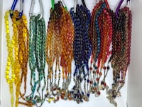 assorted color beaded necklace lot New York, 11223