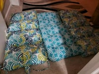 blue and green floral throw pillow Indianapolis, 46229