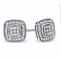 Cushion cut diamond earrings  Vaughan, L6A 2S2