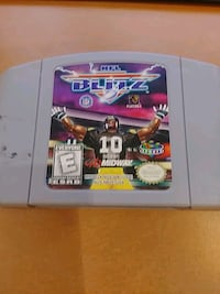 Nintendo N64 NFL Blitz.  In good and cosmetic cond Annandale