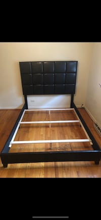 brown and black wooden bed frame Chicago Ridge, 60415