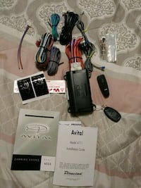 AVITAL auto remote security system