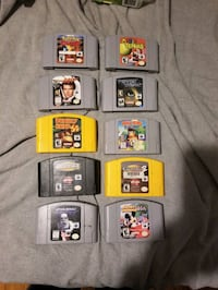 N64 nintendo 64 games sale or trade  Hamilton, L0R 1C0