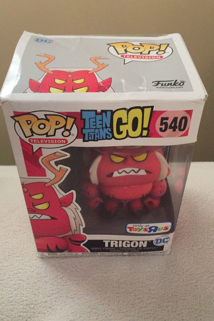 Photo Trigon pop funko toys r us exclusive new in box $5