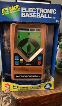 Electronic Baseball still in box.
