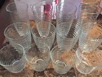 Glassware sets of 12 Toronto, M9M 1N8