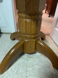 brown wooden side table with cabinet Dunkirk