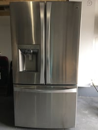 stainless steel french door refrigerator Brampton, L6R