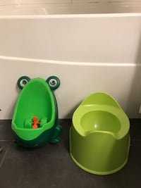 Toddler toilet and urinal.FREE! Vancouver, V5V 0B6