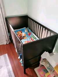 Ikea crib excellent condition with mattress