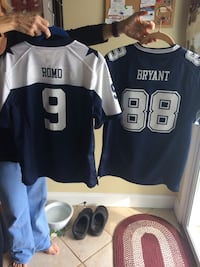 two Romo 9 and Bryan 88 football jerseys Bloomery, 26817