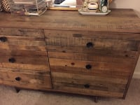 West Elm Emerson Reclaimed Wood 6-Drawer Dresser Arlington, 22204
