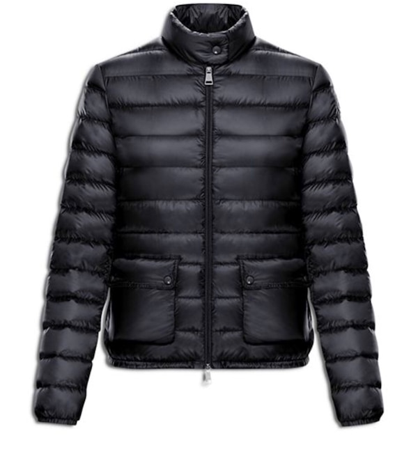 6552083487e5 Used Moncler lans puffer coat women size 4 black for sale in ...
