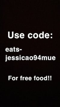 Free UBEREATS with new accounts using this code