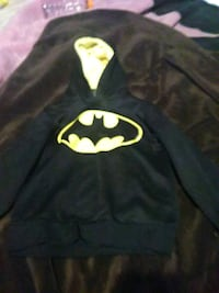 black and yellow Batman print pullover hoodie Omaha, 68111