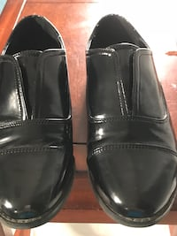 Material Girl pair of patent  leather casual loafers- size 7 Dartmouth, B2V 1Y6