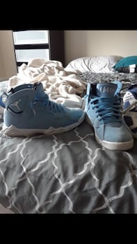 pair of blue Air Jordan basketball shoes Alexandria, 22304