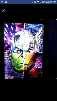 Marvel avenger holographic picture Pittsburg, 94565