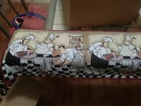 Chefs in the kitchen table runner Plantation, 33317