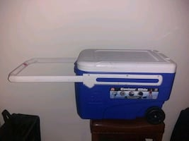 Large Rolling Cooler