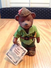 """Russ Teddy Town - 5"""" jointed bear figures Markham"""