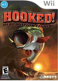 Wii Hooked  real motion fishing   Beaconsfield