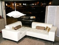 white and black sectional couch Las Vegas, 89129