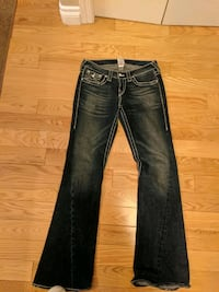 3 pairs of Designer jeans, True Religion & 7s, $25 each or $50 for lot Edmonton, T5N 0T1